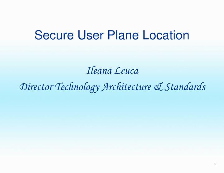 secure user plane location n.