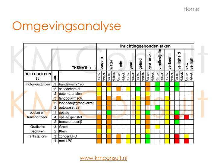 Omgevingsanalyse