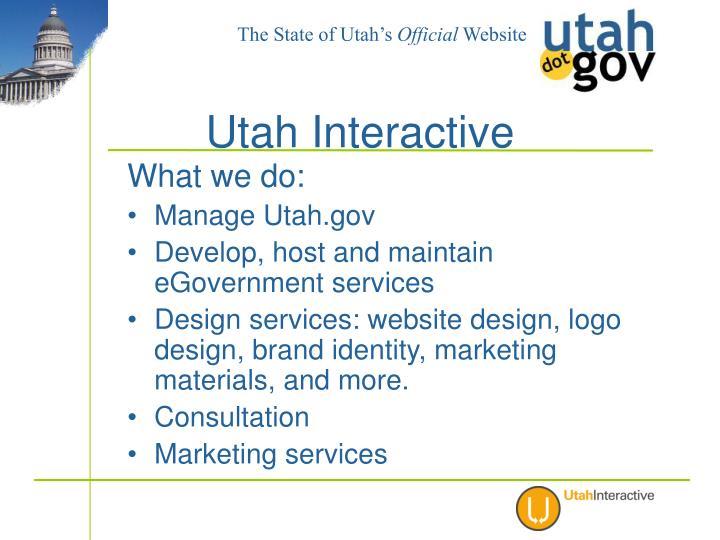 Utah interactive1