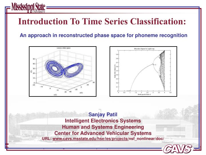 introduction to time series classification n.