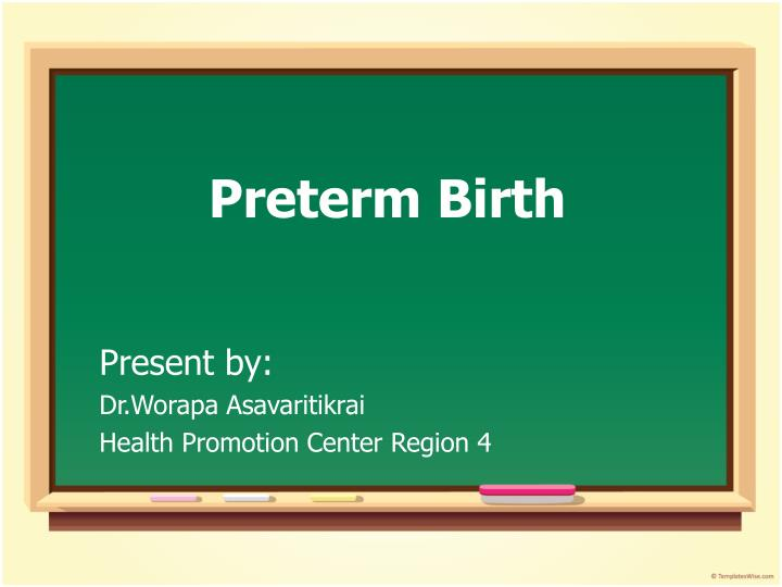 preterm birth n.