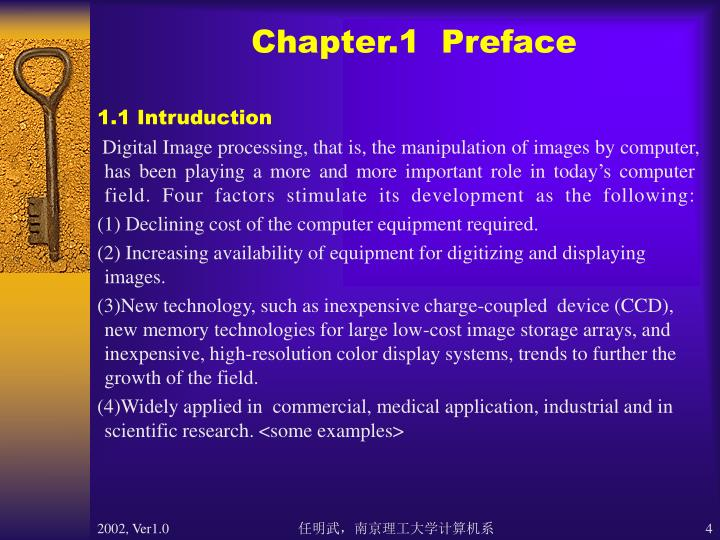 Chapter.1  Preface