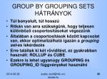 group by grouping sets h tr nyok