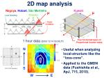 2d map analysis