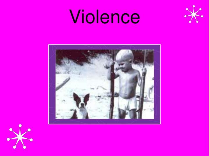 violence n.