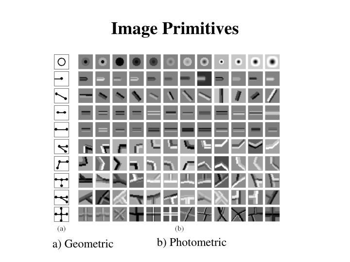 Image Primitives
