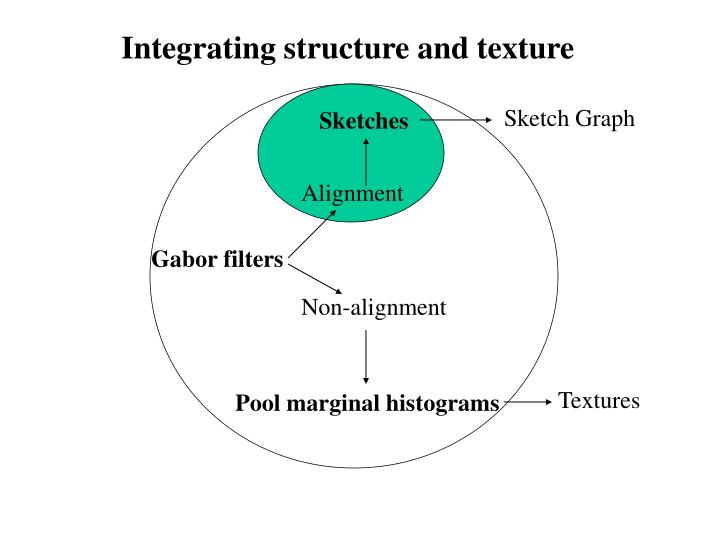 Integrating structure and texture