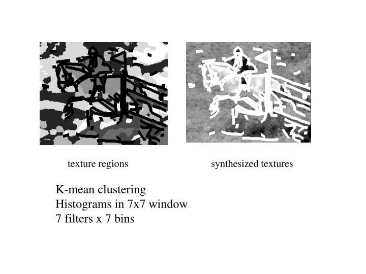 texture regions