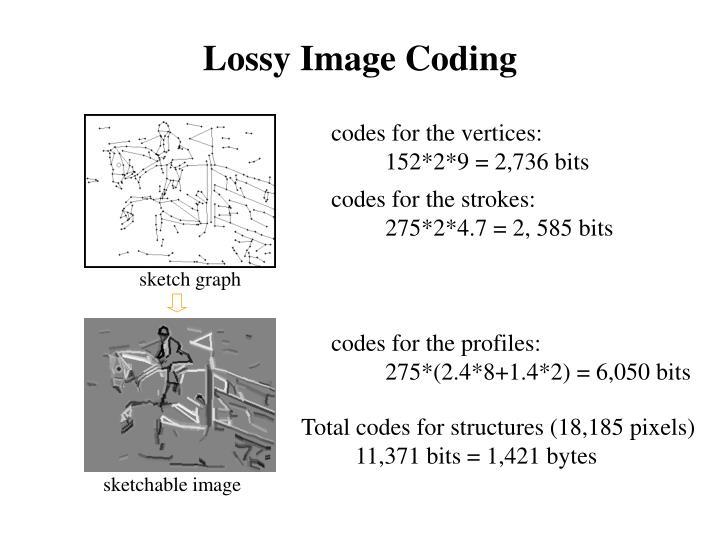 Lossy Image Coding