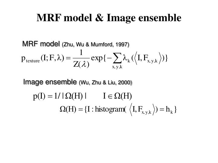 MRF model & Image ensemble