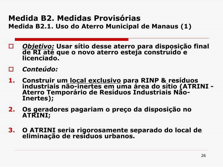 Medida B2.