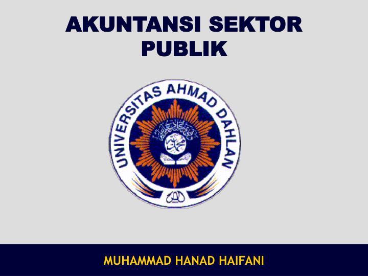 akuntansi sektor publik n.