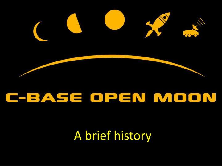 a brief history n.