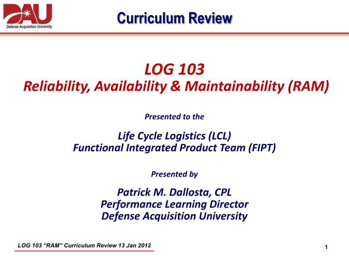 Ppt Log 103 Powerpoint Presentation Id3592069