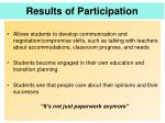 results of participation2