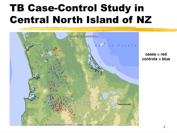 TB Case-Control Study in Central North Island of NZ
