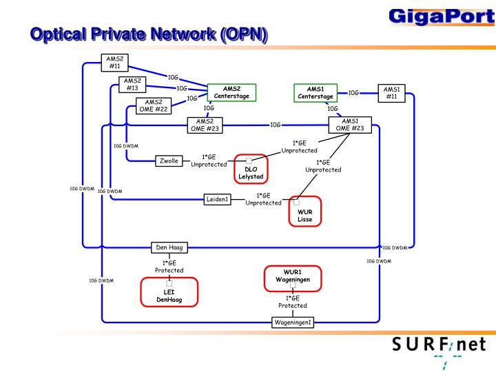 Optical Private Network (OPN)