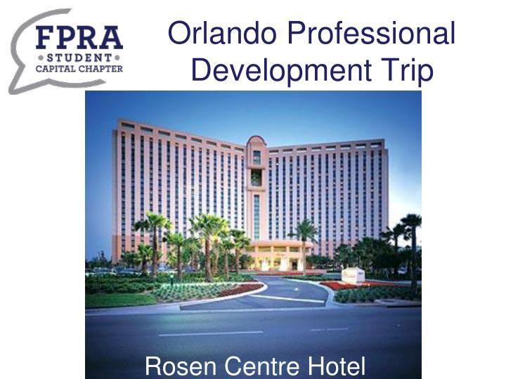 Orlando professional development trip