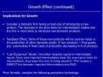 growth effect continued