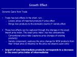 growth effect