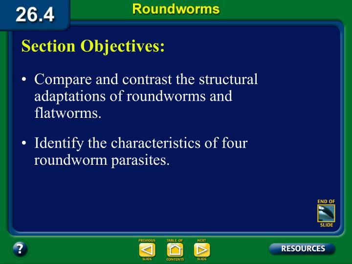 26.4 Section Objectives – page 711