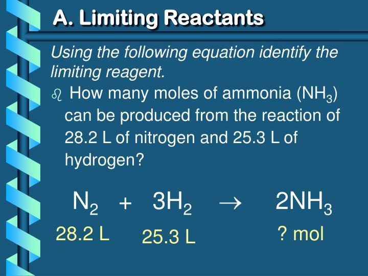 A. Limiting Reactants