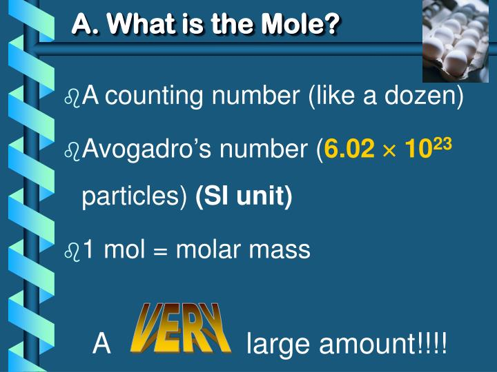 A what is the mole