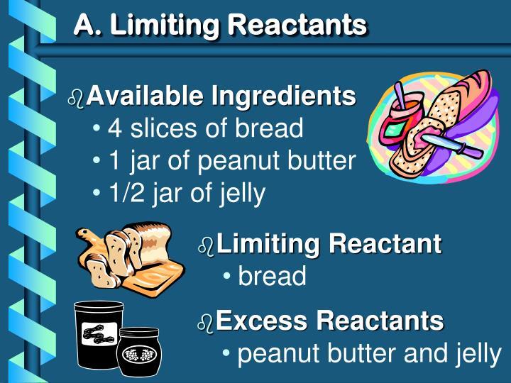A limiting reactants