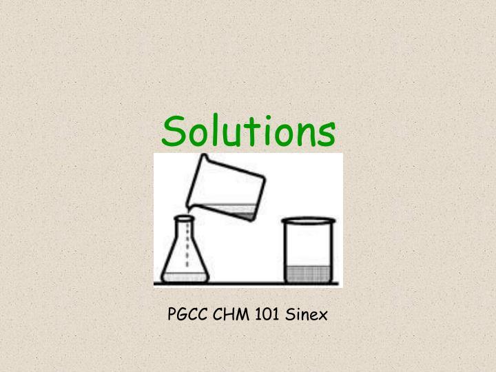 solutions n.