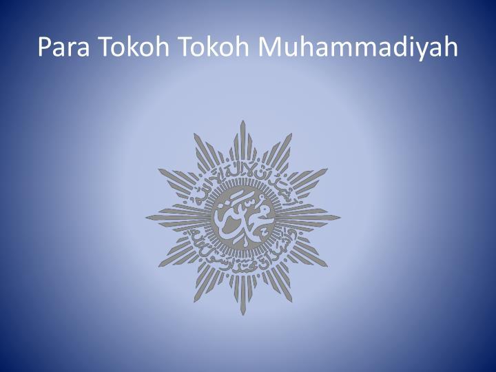 para tokoh tokoh muhammadiyah n.