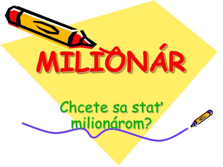 milion r