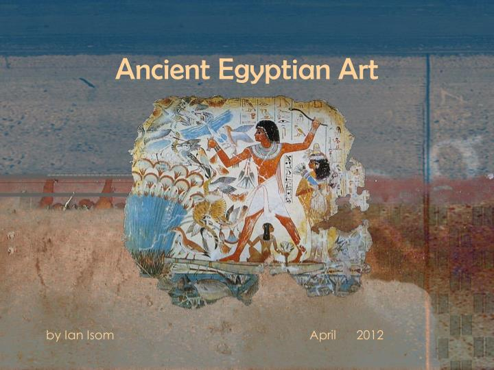 ancient egyptian art n.