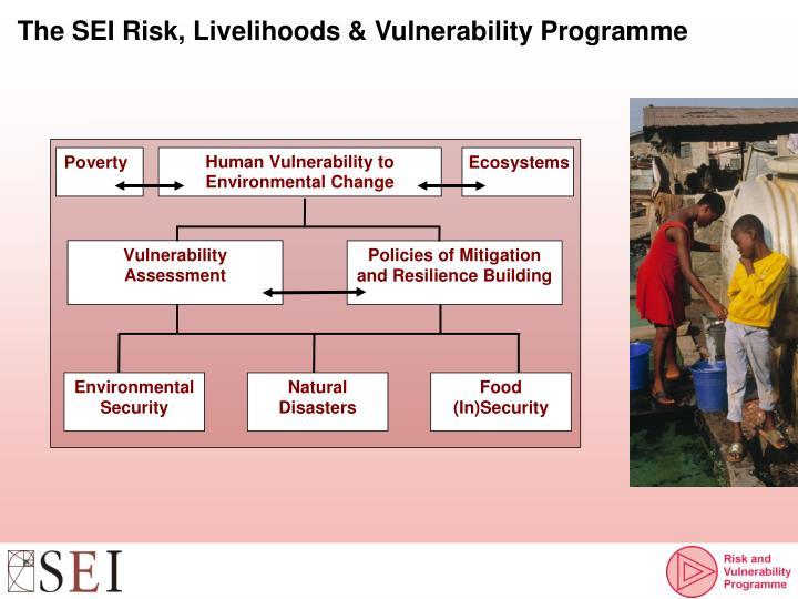 The SEI Risk, Livelihoods & Vulnerability Programme