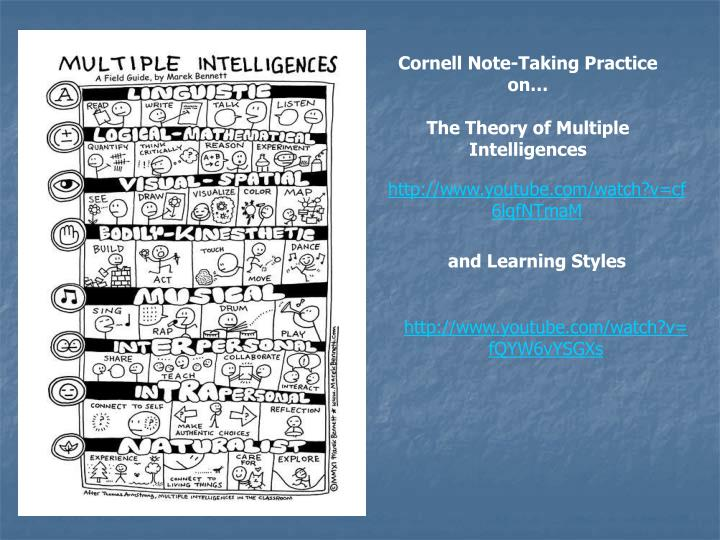 Cornell Note-Taking Practice on…