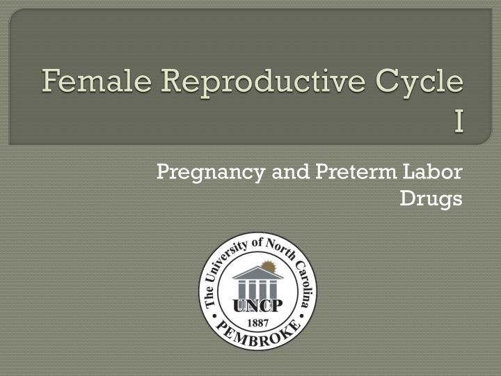 female reproductive cycle i n.
