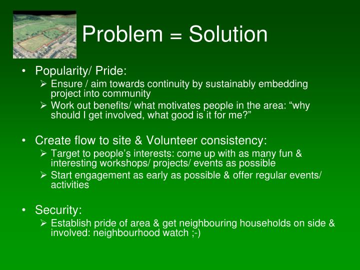 Problem = Solution
