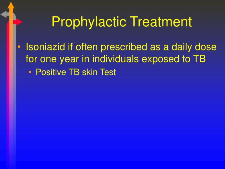 Prophylactic Treatment