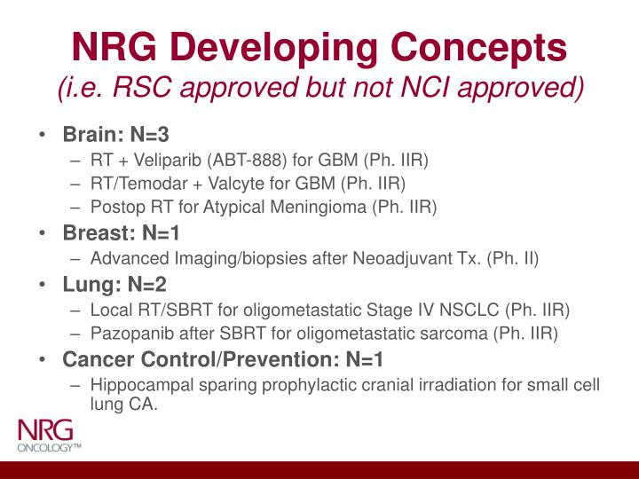 NRG Developing Concepts