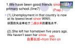 1 we have been good friends since primary school line7