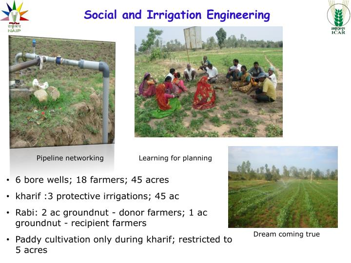 Social and Irrigation Engineering