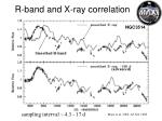 r band and x ray correlation