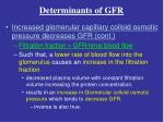 determinants of gfr3