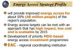 energy access strategy profile
