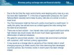 monetary policy exchange rate and financial stability1