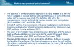 what is a macroprudential policy framework2