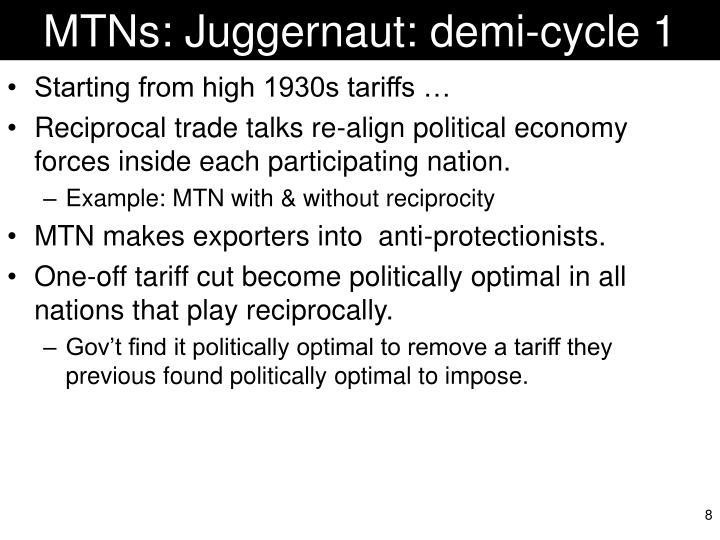 MTNs: Juggernaut: demi-cycle 1