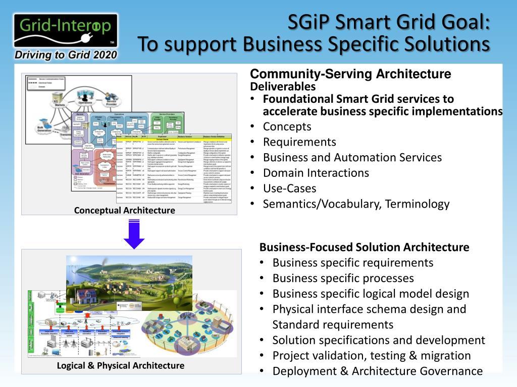 PPT - Smart Grid (Enterprise) Architecture 101 2012/Dec/04