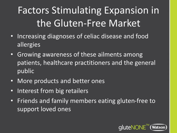 Factors Stimulating Expansion in the Gluten-Free Market