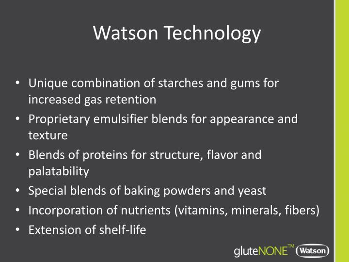 Watson Technology