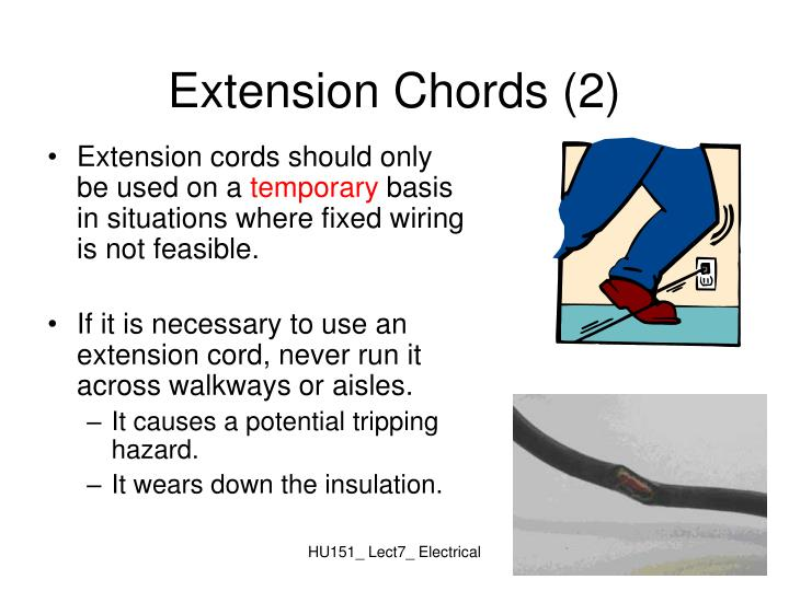 Extension Chords (2)